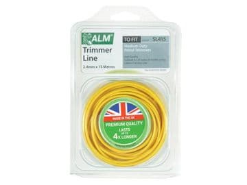 SL415 Medium-Duty Petrol Trimmer Line 2.4mm x 15m